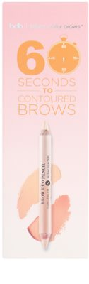 Billion Dollar Brows Color & Control sada pre dokonalé obočie 5