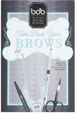 Billion Dollar Brows Take Back Your Brow set pentru sprancene perfecte 6