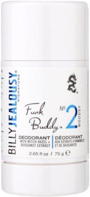 Billy Jealousy Signature Funk Buddy No. 2 desodorante en barra