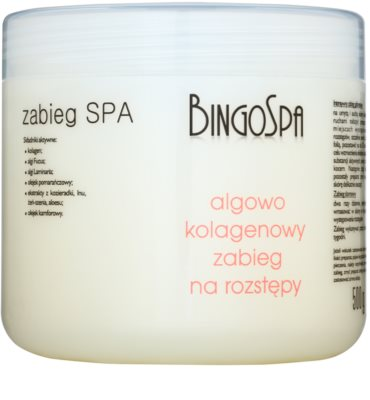 BingoSpa Algae & Collagen gel para eliminar as estrias