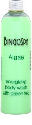 BingoSpa Algae Green Tea енергетичний гель для душа