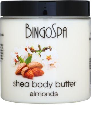 BingoSpa Almonds manteiga de karité para corpo