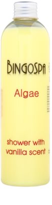 BingoSpa Algae Vanilla Scent gel de dus