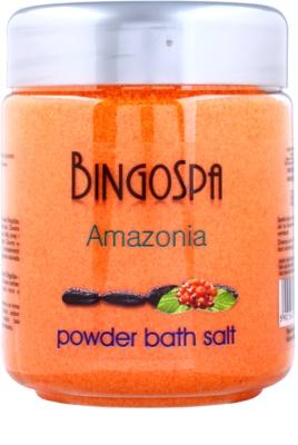 BingoSpa Amazonia pó banho com extrato extrato de guarana