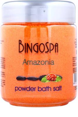 BingoSpa Amazonia Pudra de baie cu extract de guarana