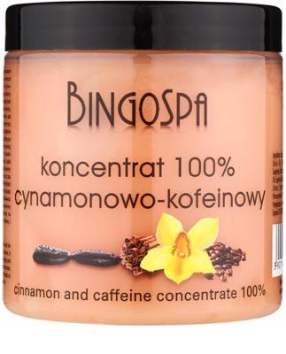 BingoSpa Caffeine & Cinnamon concentrado tonificante