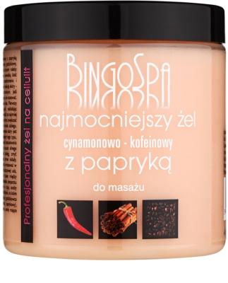 BingoSpa Caffeine & Cinnamon Chilli gel pentru masaj pentru subtiere