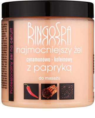 BingoSpa Caffeine & Cinnamon Chilli karcsúsító masszírozó gél
