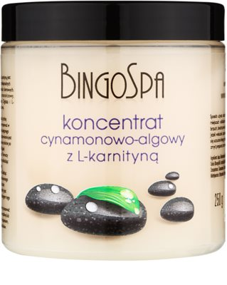 BingoSpa Cinnamon & Algae schlankmachendes Konzentrat mit L-Carnitin
