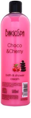 BingoSpa Choco & Cherry Gel - cremă pentru duș și baie