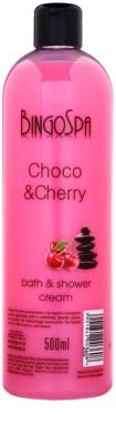 BingoSpa Choco & Cherry kremast gel za prhanje in kopel