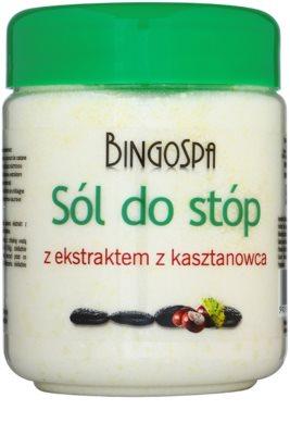 BingoSpa Chestnut Badesalz für Füße mit Neigung zu Schwellungen und Krampfadern