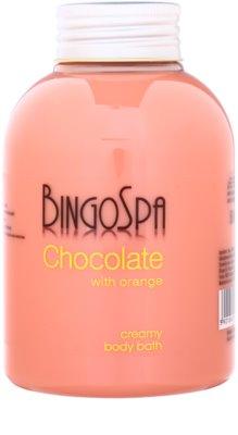 BingoSpa Chocolate Orange espuma de banho cremosa