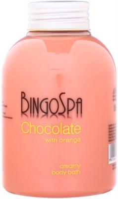 BingoSpa Chocolate Orange krémová pena do kúpeľa