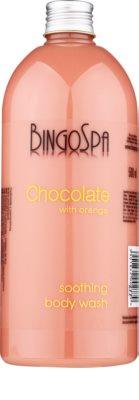 BingoSpa Chocolate Orange pomirjujoči gel za prhanje