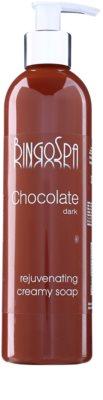 BingoSpa Chocolate Dark cremige Seife mit Verjüngungs-Effekt