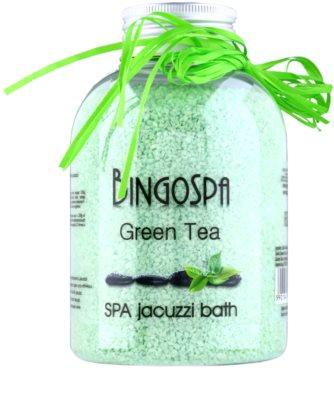 BingoSpa Green Tea banho mineral para banheira de hidromassagem
