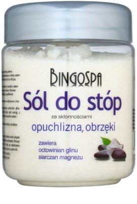 BingoSpa Herbs kúpeľová soľ na nohy obmedzujúca potenie