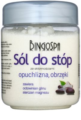 BingoSpa Herbs sol za kopel za noge za zmanjšanje potenja