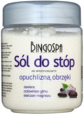 BingoSpa Herbs сіль для ванни ніг, зменшуюча потовиділення