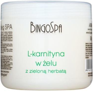 BingoSpa L- Carnitine zeštíhlující tělový gel se zeleným čajem