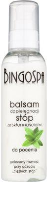 BingoSpa Mint balsam pentru picioare predispuse la transpirație