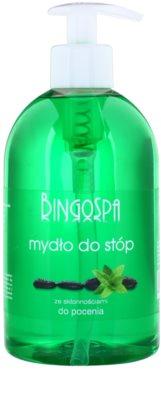 BingoSpa Mint tekuté mýdlo na nohy se sklonem k pocení