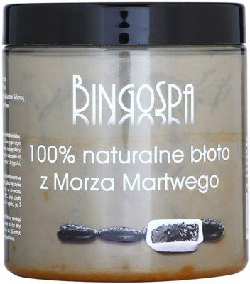 BingoSpa Mud 100% přírodní bahno z Mrtvého moře na tvář, tělo a vlasy