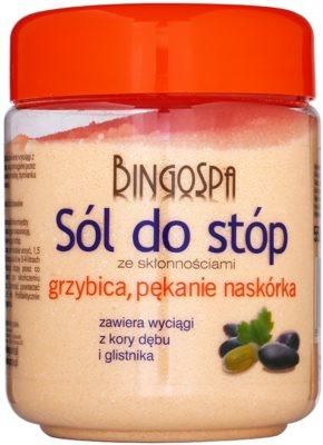 BingoSpa Oak Bark koupelová sůl na nohy se sklonem k mykózám a praskání kůže