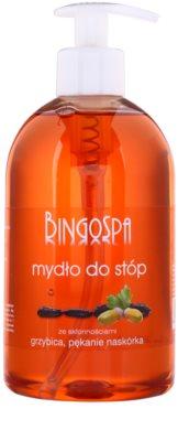 BingoSpa Oak Bark jabón líquido para pies con tendencia a sufrir hongos y piel agrietada