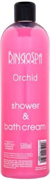BingoSpa Orchid tusoló és fürdő krémes gél