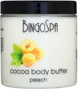 BingoSpa Peach manteiga de cacau para corpo