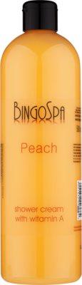 BingoSpa Peach crema de ducha con vitamina A