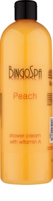BingoSpa Peach Duschcreme mit Vitamin A