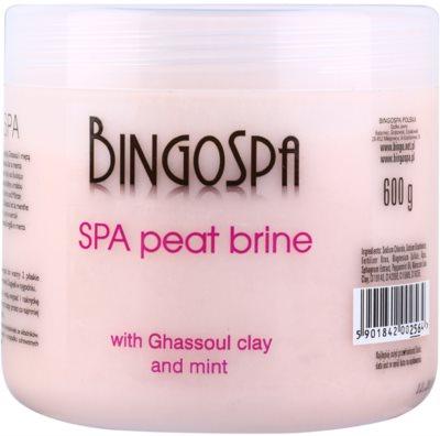 BingoSpa Peat jemná sůl do koupele s marockým jílem a mátou