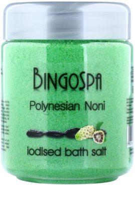 BingoSpa Polynesian Noni jodizovaná sůl do koupele