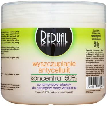 BingoSpa Redual Algae & Cinnamon schlankmachendes Konzentrat gegen Zellulitis