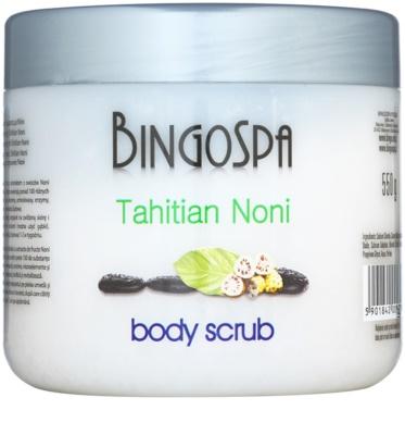 BingoSpa Tahitian Noni Exfoliant pentru corp cu particule cristaline