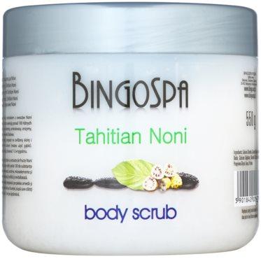 BingoSpa Tahitian Noni exfoliante corporal japonés