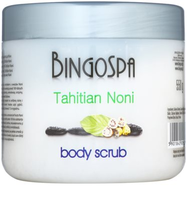BingoSpa Tahitian Noni kristallines Bodypeeling