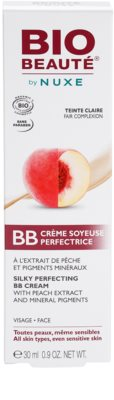 Bio Beauté by Nuxe Skin-Perfecting BB creme  com extrato de pêssego e pigmentos minerais 3