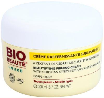 Bio Beauté by Nuxe Body зміцнюючий крем для тіла з екстрактом лимону та олійкою