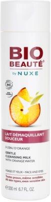 Bio Beauté by Nuxe Cleansing leite de limpeza com água de laranja