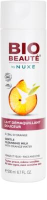 Bio Beauté by Nuxe Cleansing почистващо мляко с вода от портокал
