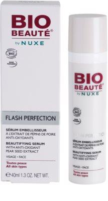 Bio Beauté by Nuxe Flash Perfection zkrášlující sérum s antioxidačním extraktem z hruškových semínek 2
