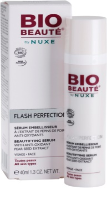 Bio Beauté by Nuxe Flash Perfection lepotni serum z antioksidantnim izvlečkom hruškovih pešk 3