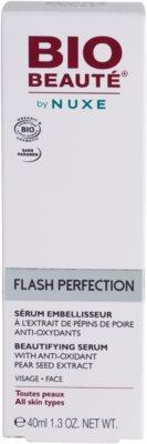 Bio Beauté by Nuxe Flash Perfection lepotni serum z antioksidantnim izvlečkom hruškovih pešk 4