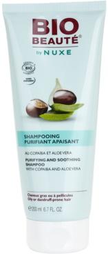 Bio Beauté by Nuxe Hair szampon oczyszczający z kopaiwą i aloesem