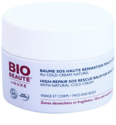Bio Beauté by Nuxe High Nutrition SOS bálsamo regenerador para pieles sensibles con cold cream