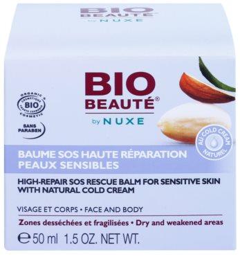 Bio Beauté by Nuxe High Nutrition regenerierender SOS Balsam für empfindliche Haut mit Anteilen von